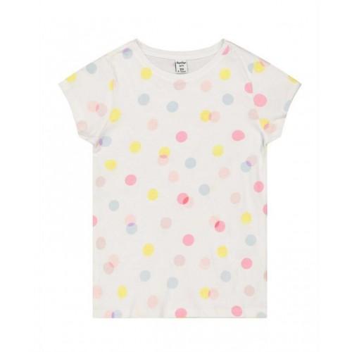 Tricou cu imprimeu buline pentru fetite, 190521PV21RZ