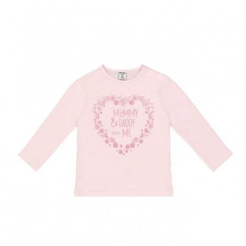 Bluza cu maneca lunga pentru bebe fetite 290412PV21RZ