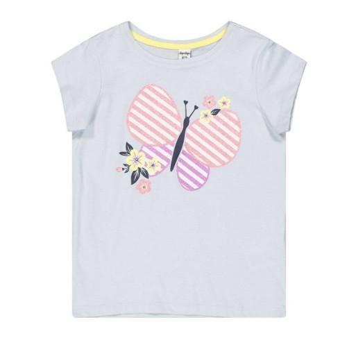 Tricou cu imprimeu pentru fetita, 290414PV21BL
