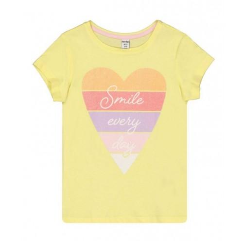 Tricou cu imprimeu pentru fetita, 290415PV21GA
