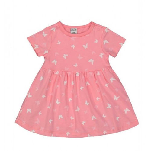 Rochie cu imprimeu fluturasi pentru bebe fetita, 260402PV21RZ