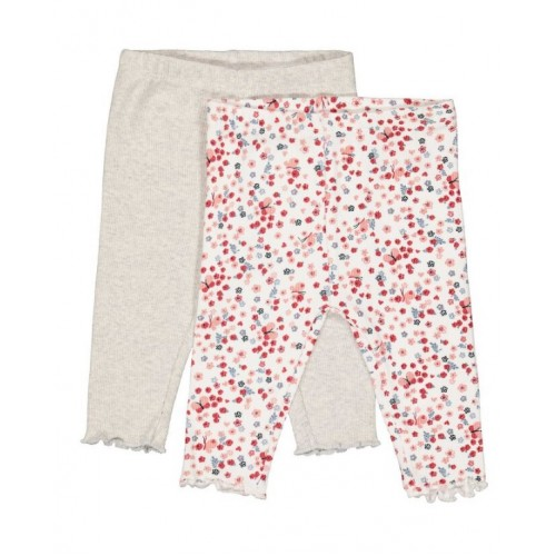 Set 2 perechi de pantaloni pentru bebe fetita, 260404PV21RO