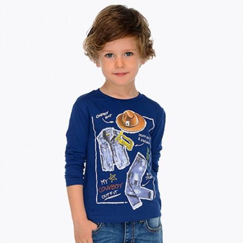 Bluza cu imprimeu baieti Mayoral 3047PV19ABS
